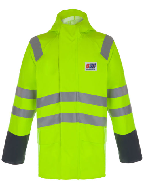 STORMTEX-AIR 242 HI-VIS CLASS 3 WATERPROOF JACKET