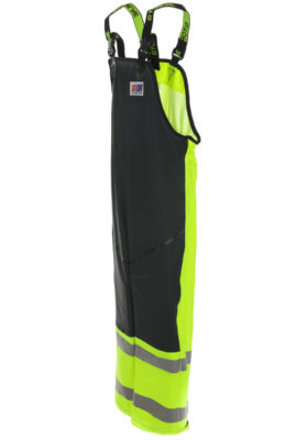 Stormtex-Air 696 Class 1 waterproof bib and brace angle