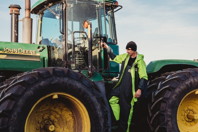 Ideal for farm work and commercial workwear