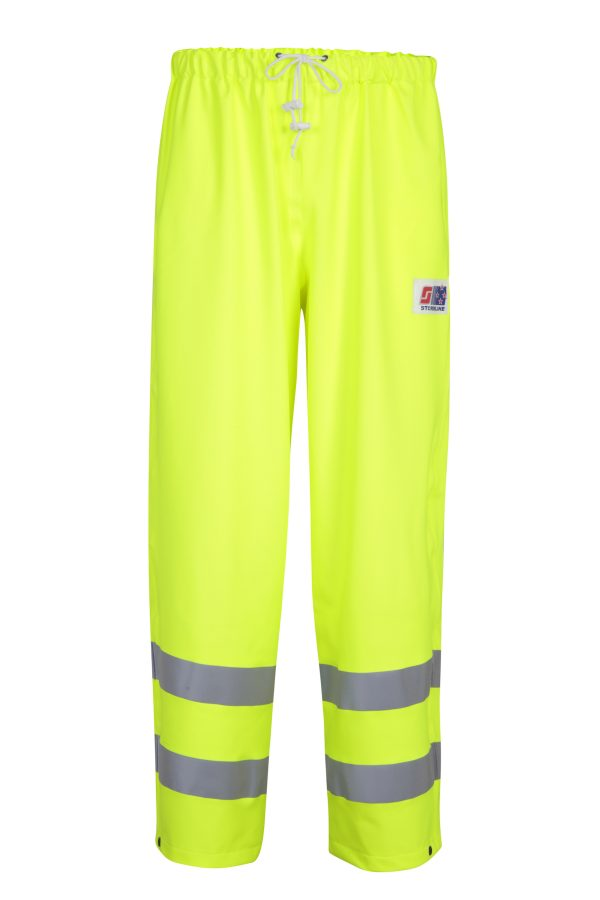 Stormtex-Air 757 Class 1 Yellow Hi-Viz Waterproof Overtrousers