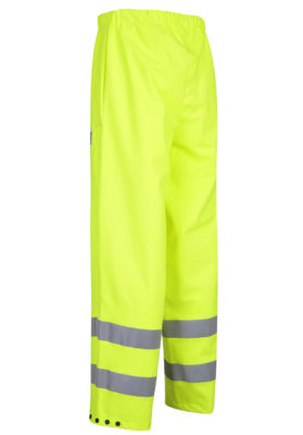 Stormtex-Air 757 Class 1 Yellow Hi-Viz Waterproof Overtrousers angle
