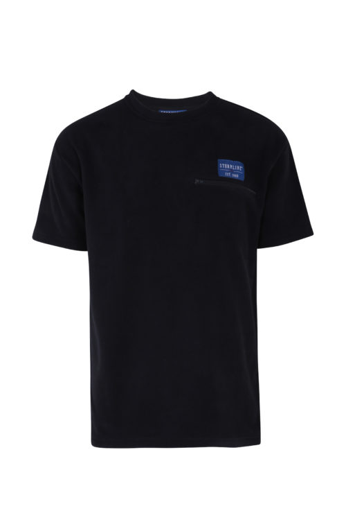 Riverton Micro Fleece T-Shirt with chest pocket