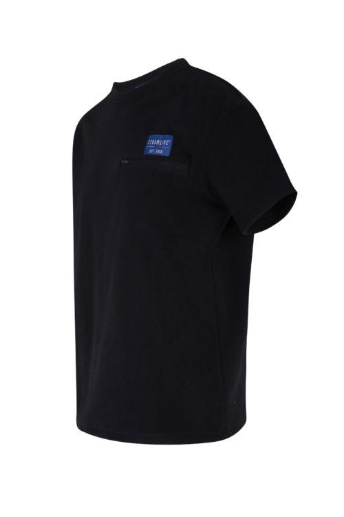 Riverton Micro Fleece T-Shirt with chest pocket angle