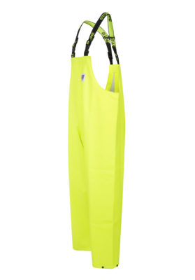 Stormtex 669Y PVC Oilskin Hi-Viz Waterproof Workwear Bib and Brace angle