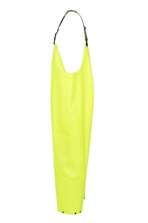 Stormtex 669Y PVC Oilskin Hi-Viz Waterproof Workwear Bib and Brace side