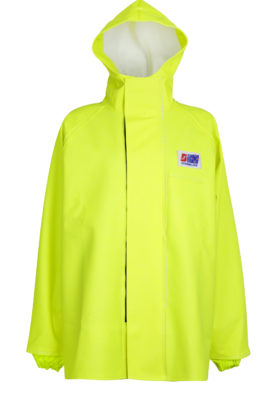 Stormtex 248Y PVC Hi-Viz Oilskin Waterproof Workwear Jacket