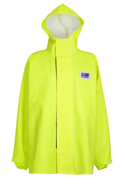 Stormtex 248Y PVC Hi-Viz Oilskin Waterproof Workwear Jacket