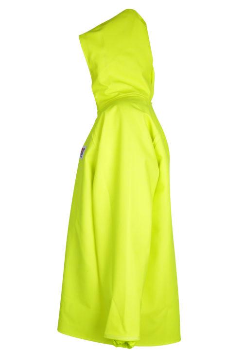 Stormtex 248Y PVC Hi-Viz Oilskin Waterproof Workwear Jacket side