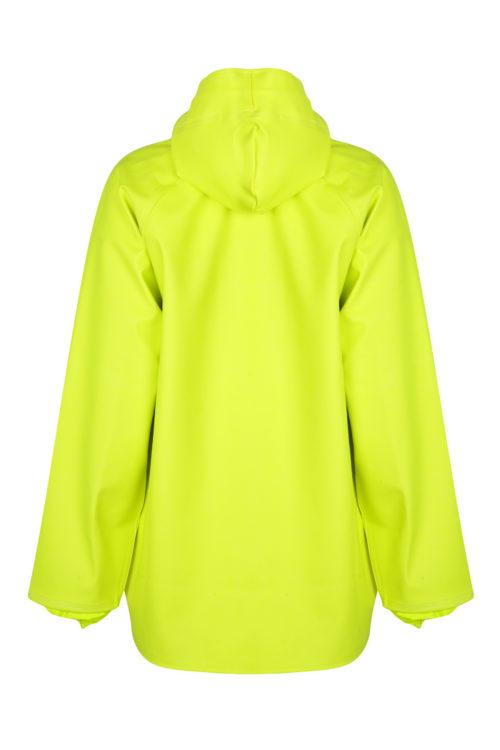 Stormtex 248Y PVC Hi-Viz Oilskin Waterproof Workwear Jacket back