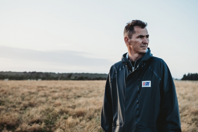 Farming wet weather jacket