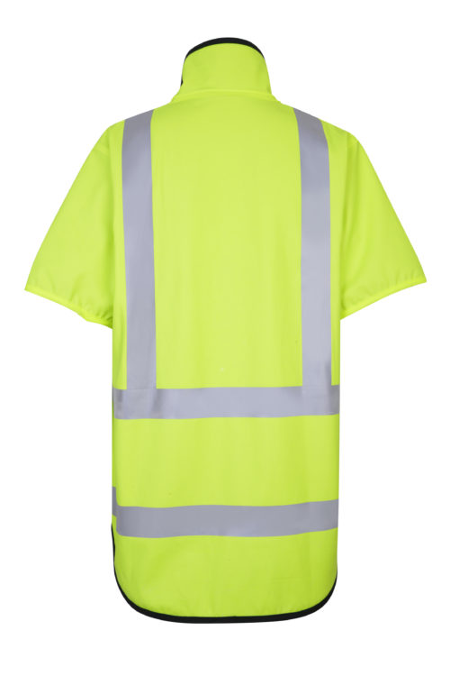 Stormtex 982TNS Class 3 Hi-Viz wet weather workwear vest back