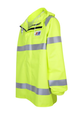 Stormtex 248EN Class 3 hi-viz waterproof workwear jacket angle