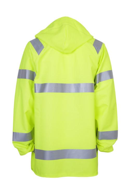 Stormtex 248EN Class 3 hi-viz waterproof workwear jacket back