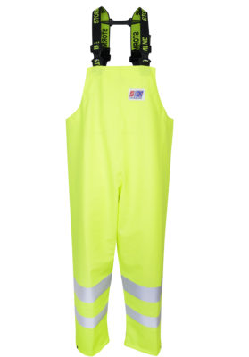 Stormtex 669EN Class 1 hi-viz waterproof bib and brace