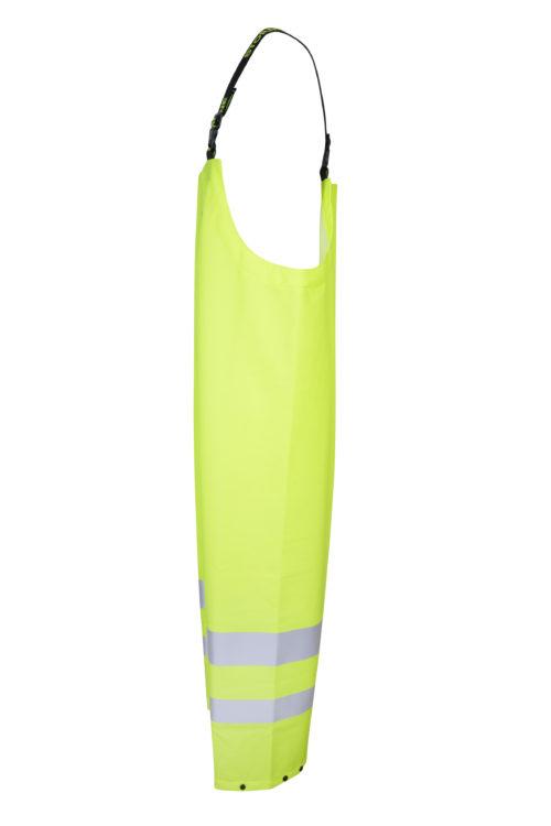 Stormtex 669EN Class 1 hi-viz waterproof bib and brace side