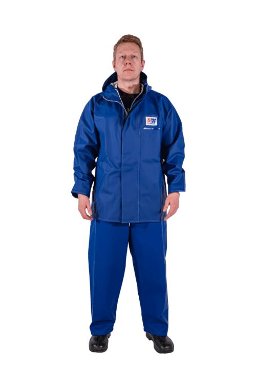 Stormtex 248B Jacket on model wiyh hood