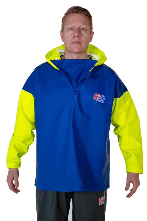 Stormtex 818 PVC Waterproof Fishing Smock person