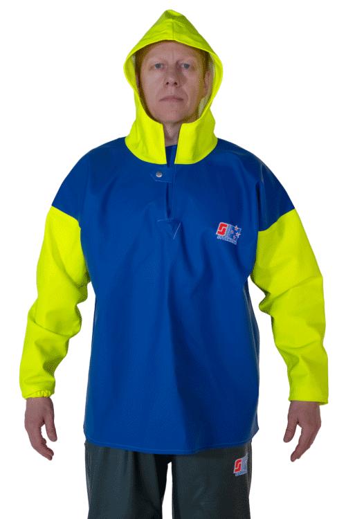 Stormtex 818 PVC Waterproof Fishing Smock person back