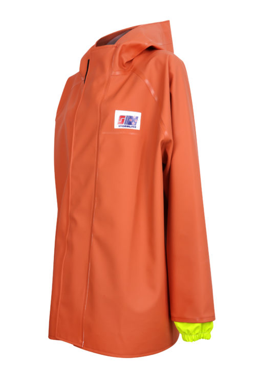 Stormtex 248O PVC Commercial Rain Gear Jacket angle