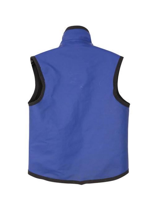 Kids wet weather vest back