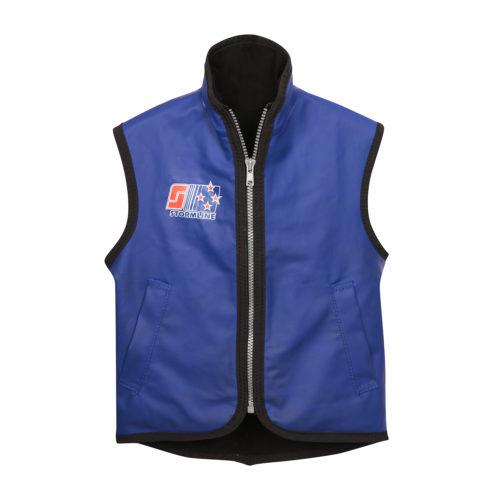 Kids wet weather vest